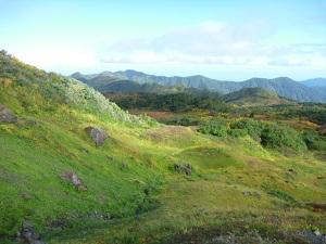 長栂山から黒岩平