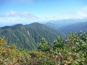 サワガニ山からの景色