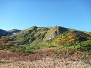 秋の栂海新道