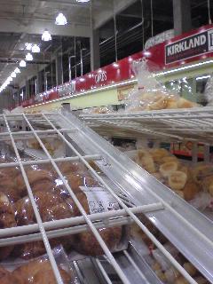 山と積まれたパン♪