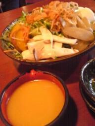 京都らしい野菜と・・・
