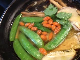 高麗人参と竹のスープ野菜ポトフ