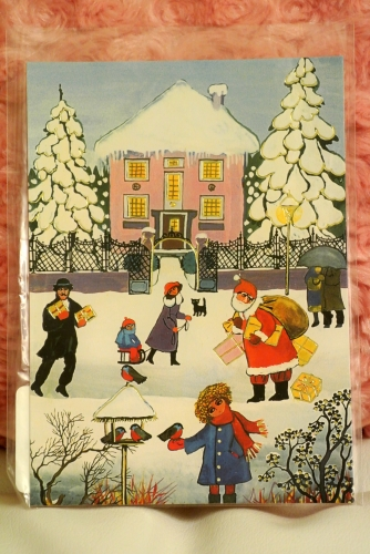 Renate Koblingerさん作のクリスマスカード