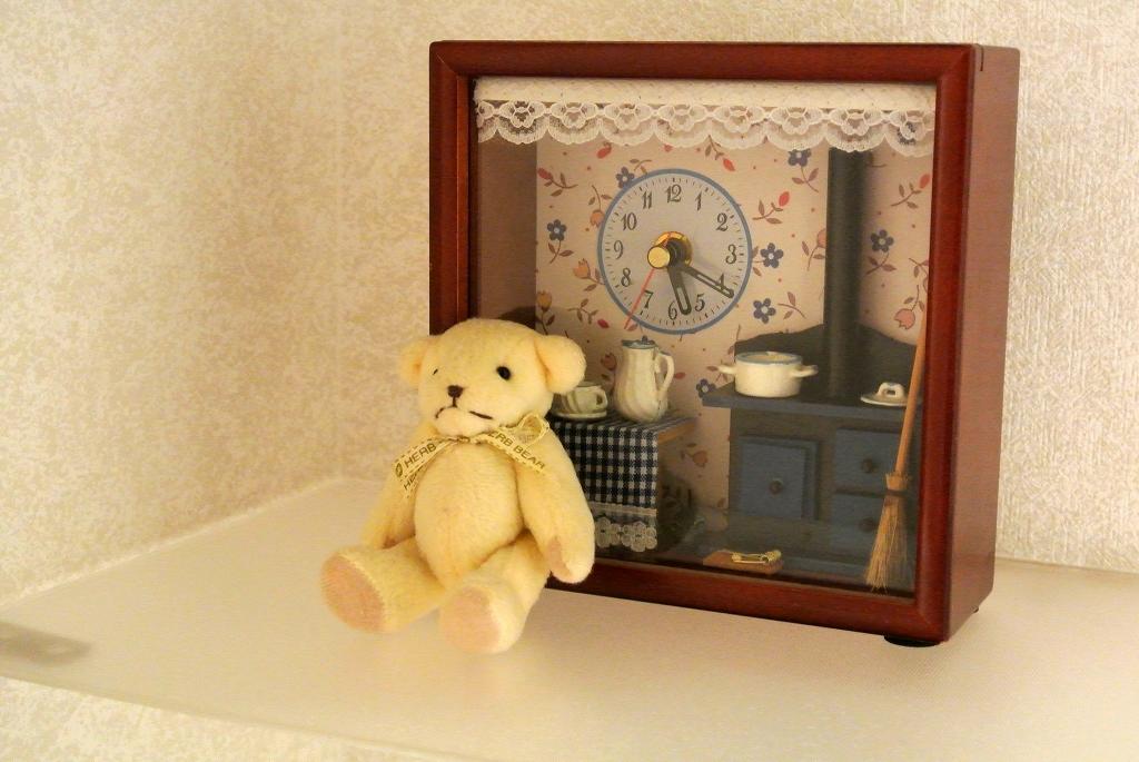 箱型の置時計