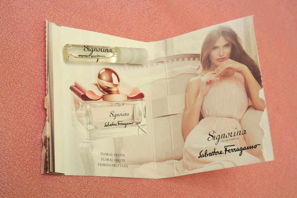 SalvatoreFeragamoの香水 Signorina