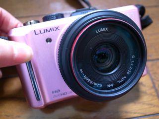 ルミックスカメラ