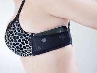 iPhoneも収納可能なポケット付きブラ「The JoeyBra」