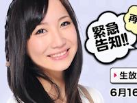 """""""生放送中におっぱいを出しちゃいます!!"""" 倉多まお 6/16 ニコ生に再び出演"""