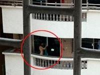 ロシア美女がベランダで全裸日光浴して困ると中国福建省の住民が苦情
