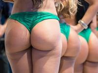 ブラジル一の美尻を決めるコンテスト「Miss Bumbum Brasil 2012」