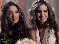 ミス・レバノン2012で双子の美人姉妹が1位2位を独占