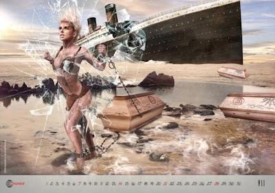 棺桶×ヌード カレンダー 2