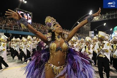 ブラジル・サンパウロ カーニバル 1