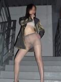 微乳人妻 ヌード画像 1