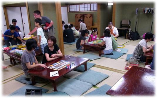 2011-07-18 親子ゲーム会の模様