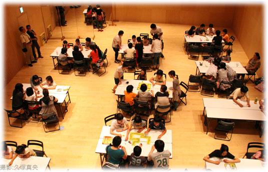 2011-08-27 座・高円寺みんなの作業場の風景:上方から