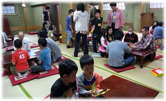 2012-04-30 親子ゲーム会の模様