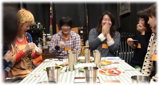 2013-03-03 すごろく夜女子会の模様