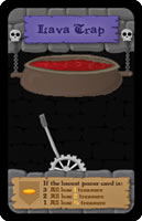ダンジョンレイダース:溶岩の罠