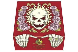 髑髏と薔薇:赤箱:箱