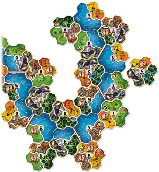 スモールワールド拡張セット:王国:マップ#2