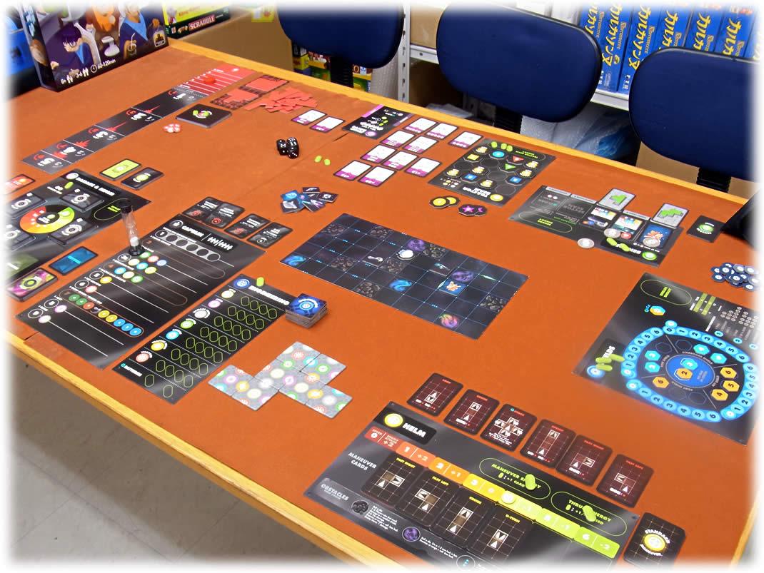 スペースカデット:遊戯中状態