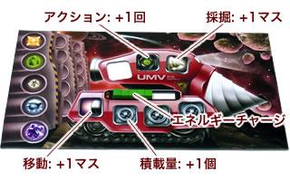 アンダーマイニング:UMV装備後