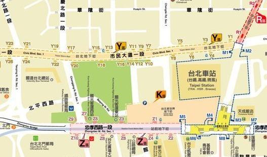 台北地下街Z区2