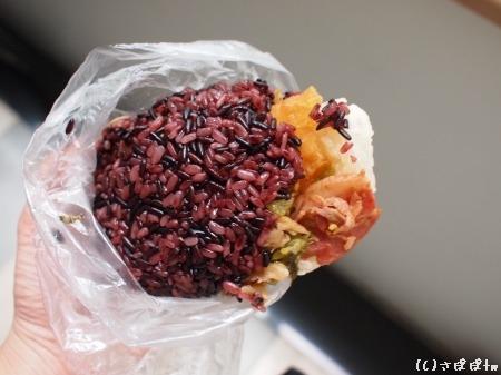 台湾おにぎり紫米7