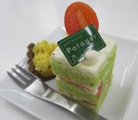 ポタジエのケーキ