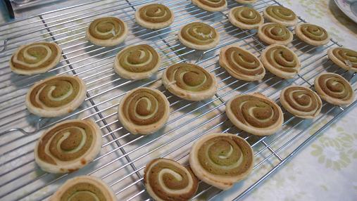 渦巻きクッキー