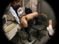万引き女子校生は弱みを握ってレでこらしめてやらねば!! - エロ動画 アダルト動画