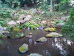 20111103六義園滝見の茶屋の滝