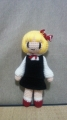 3体目のルーミア 人形ではヤマメに次ぐ数編んでますねー