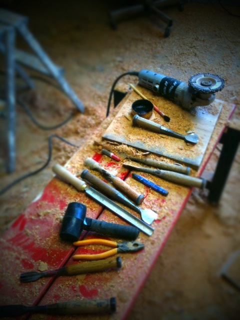 荒彫り道具