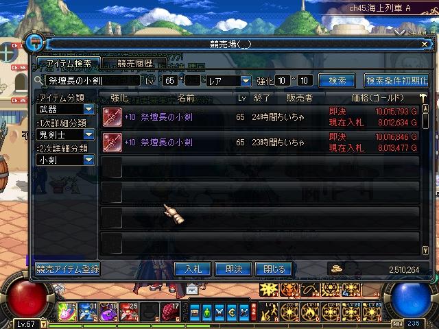 65小剣+10