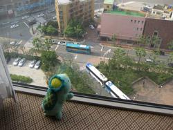 パラダイスホテルの窓から2