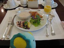 パラダイスホテルの朝食バイキング2日目