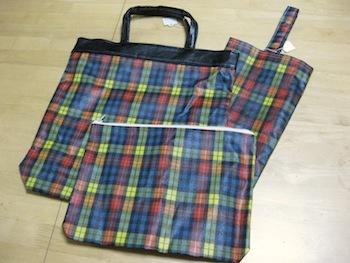 叔母さん手作りのバッグ