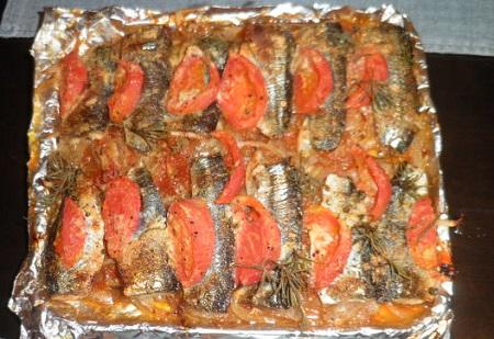 サンマオーブン焼き