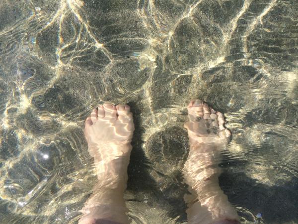 尻久砂里 脚