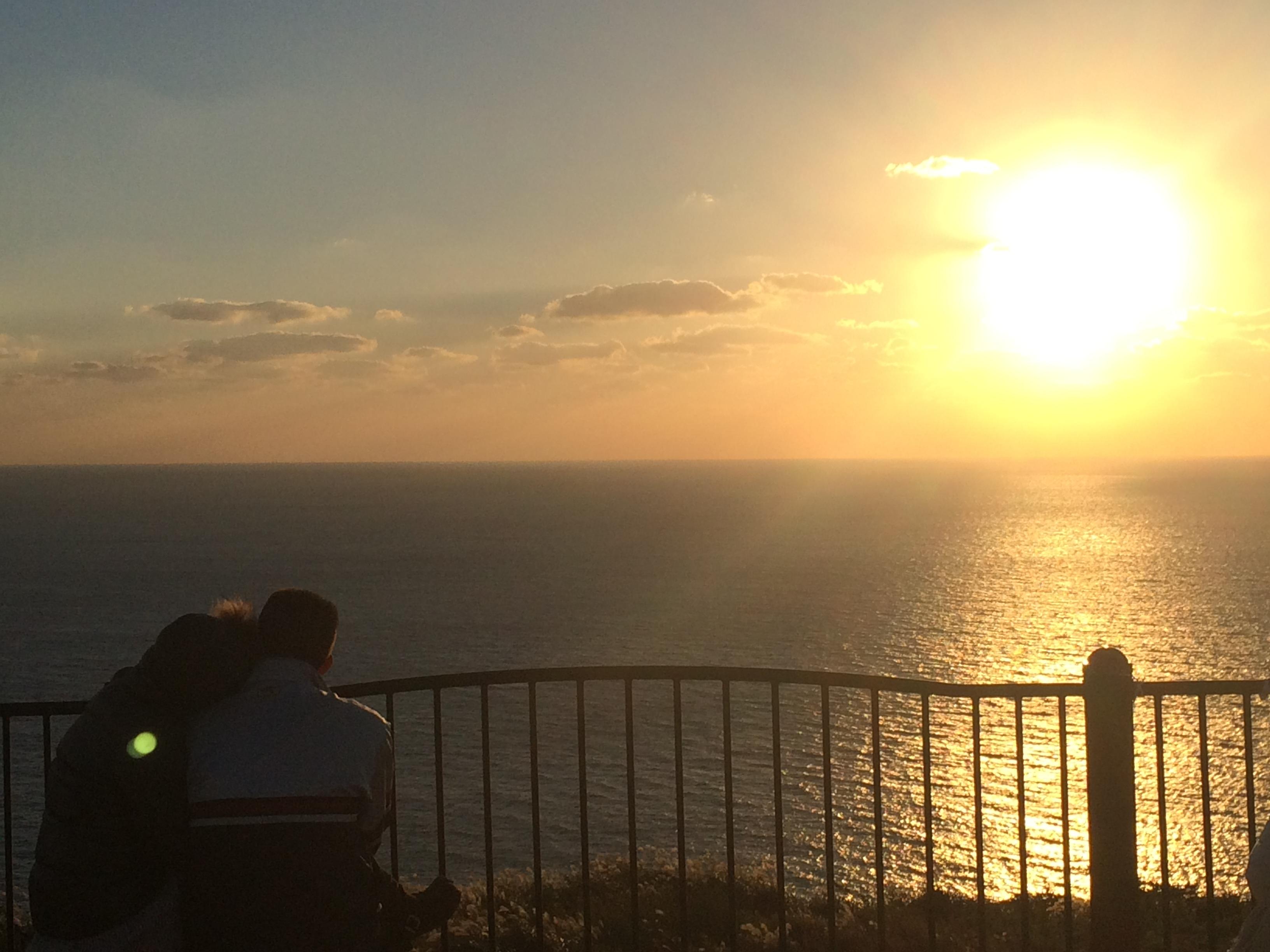 夕陽が丘 そとめ カップル