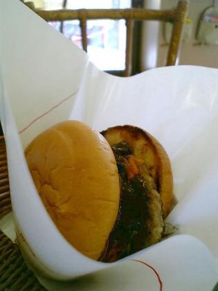 モスバーガー とびきりハンバーグサンド「焼きトマト&チーズデミ2