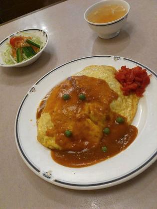 洋食の美松 オムライス2