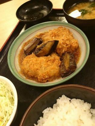 松乃家天王町鱈のみぞれ煮定食2