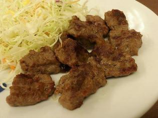 松屋、中落ちカルビステーキ定食3