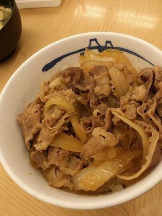 松屋2012新牛めし(並)2
