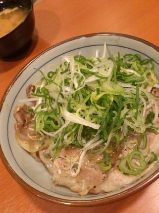 東京チカラめしねぎ盛り旨塩焼き牛丼2