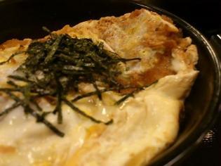 和定食の店松乃家天王町店でかつ丼、豚汁セット4