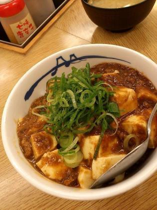 松屋、店舗限定麻婆丼(並)3